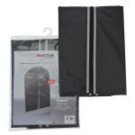 AXENTIA Kleidersack 100 x 60 cm schwarz/grau PEVA 40g/m²