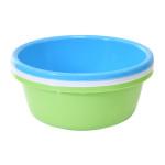 AXENTIA Kunststoffschüssel rund 36 cm farbig