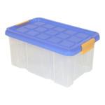 AXENTIA Unibox mit Deckel, Stapelbox, Universalbox, Aufbewahrungskiste, Spielzeugbox, 30 x 14 x 15 cm, 5 Liter