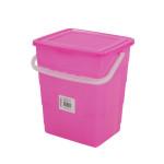 AXENTIA Universalbox mit Klappdeckel und Henkel 4,5 Liter 21,5 x 17,5 x 10 cm