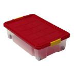 AXENTIA Unterbettkommode mit Rollen, Unterbettroller, Unterbettbox, Aufbewahrungsbox, 60 x 40 x 18 cm, 28 Liter