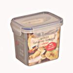 3 Stück AXENTIA Vorratsdosen Airproof, Gefrierdosen, Multifunktionsboxen 0,90 Liter, rechteckig, 13,5 x 10,5 x 11,5 cm, Set by Danto®