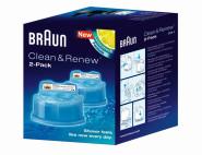 BRAUN Clean & Charge CCR2 Ersatzkartusche 2er-Pack