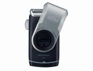 BRAUN Rasierer Pocket M90 silber/schwarz