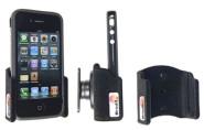 Brodit Halterung passiv für Apple iPhone 4 für original Apple Bumper, beflockt und mit Kugelgelenk