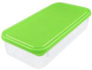 Buchsteiner Freshbox mit 1000 ml Fassungsvermögen, rechteckig, aus Kunststoff, blau und grün, farbig sortiert