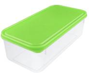 Buchsteiner Freshbox mit 1700 ml Fassungsvermögen, rechteckig, aus Kunststoff, blau und grün, farbig sortiert