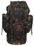 Bundeswehr Kampfrucksack, flecktarn, groß, Mod.