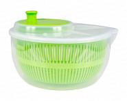 Centi Salatschleuder aus Kunststoff, 25 x 13 cm, in transparent/grün