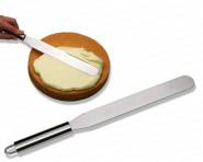 chg Streichpalette, Tortenpalette, Konditormesser, Edelstahl, Länge 37 x 3 cm