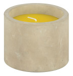 Citronella Kerze im Betontopf   Esschert Design