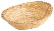 Contacto Bambuskorb oval, lebensmittelgeeignet, 20 x 15,5 x 7Hcm