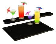 Contacto Bar- und Thekenmatte, 45 x 30 cm, in schwarz, aus Gummi