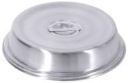 Contacto Edelstahl Tellerglocke, konische Form für Teller bis 22,9 cm matt, mit Steggriff