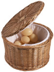 Contacto Eierkorb 26 cm aus Vollweide,