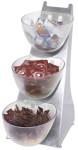 Contacto Einsatz zu Verkaufschütte, 1 Liter Volumen, aus gefrostetem Polystyrol