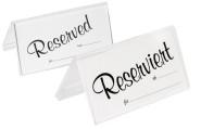 Contacto Einschubkarten blanko, 25 Stück enthalten, aus Acryl, für Einschubkarte 10 x 5 cm