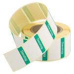 Contacto Etiketten Dienstag GRÜN 500 Stück auf Rolle, leicht ablösbar, Etikettengröße 30 x 24 mm