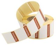 Contacto Etiketten Donnerstag BRAUN 500 Stück auf Rolle, leicht ablösbar, Etikettengröße 30 x 24 mm