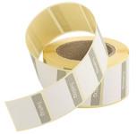 Contacto Etiketten Freitag GRAU 500 Stück auf Rolle, leicht ablösbar, Etikettengröße 30 x 24 mm