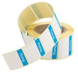 Contacto Etiketten Montag BLAU 500 Stück auf Rolle, leicht ablösbar, Etikettengröße 30 x 24 mm