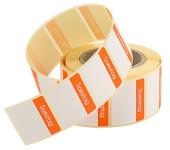 Contacto Etiketten Samstag ORANGE 500 Stück auf Rolle, leicht ablösbar, Etikettengröße 30 x 24 mm