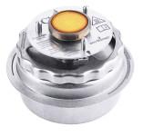 Contacto Gasheizgerät für Chafing-Dish, Brenndauer bis 5h, selbstverschließend bei Sturz, sauber durch ruß-, geruchs- und rückstandsfreien Betrieb