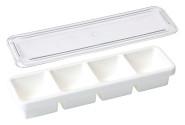 Contacto Gewürzbox 4 fach, weiss 470 x 130 x 75 mm