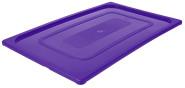 Contacto GN-Deckel 1/1, violett, Polypropylen für Serie 5511, HACCP-Farben zur Codierung des Füllinhalts, Mikrowellen/Tiefkühl-tauglich