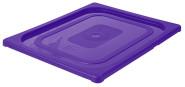 Contacto GN-Deckel 1/2, violett, Polypropylen für Serie 5511, HACCP-Farben zur Codierung des Füllinhalts, Mikrowellen/Tiefkühl-tauglich