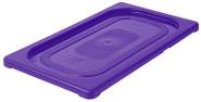 Contacto GN-Deckel 1/3, violett, Polypropylen für Serie 5511, HACCP-Farben zur Codierung des Füllinhalts, Mikrowellen/Tiefkühl-tauglich