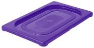 Contacto GN-Deckel 1/4, violett, Polypropylen für Serie 5511, HACCP-Farben zur Codierung des Füllinhalts, Mikrowellen/Tiefkühl-tauglich