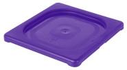 Contacto GN-Deckel 1/6, violett, Polypropylen für Serie 5511, HACCP-Farben zur Codierung des Füllinhalts, Mikrowellen/Tiefkühl-tauglich