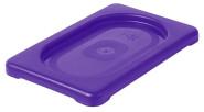Contacto GN-Deckel 1/9, violett, Polypropylen für Serie 5511, HACCP-Farben zur Codierung des Füllinhalts, Mikrowellen/Tiefkühl-tauglich