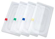Contacto GN Markierclip gelb zur farbigen Markierung von GN-Deckel aus Polypropylen