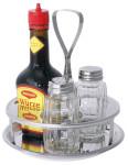 Contacto Menage 3-teilig, Pfeffer- & Salzstreuer, ohne Maggiflasche