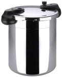 Contacto Schnellkochtopf von Gastro-Qualität, 8000 ml, Ø 24,5 x H17 cm innen, mit Sandwich-Boden, Induktionsgeeignet, schwere Qualität