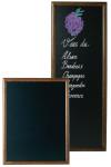 Contacto Schreibtafel, 60x80cm, nuss