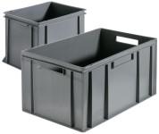 Contacto Stapel-Transportkiste Polyethylen mit Griffleisten