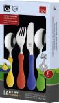 CS Kochsysteme Besteckset Babeny, Kinder-Set, 4-teilig in Geschenkverpackung, Edelstahl