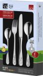 CS Kochsysteme Kinderbesteck, 4-teilig, aus Edelstahl, mit verschiedenen Motiven