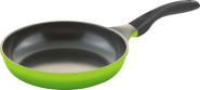 culinario Pfanne mit Keramikbeschichtung, Ø 24 cm, in grün, für Induktionsherd geeignet, m. Antihaftbeschichtung
