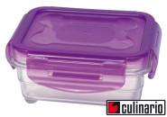culinario Cloc Vorratsdose und Frischhaltedose, BPA-frei, lila, 330 ml