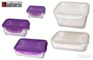 culinario Cloc Vorratsdose und Frischhaltedose, BPA-frei, lila, in verschiedenen Größen erhältlich
