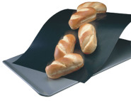 culinario Dauerbackfolie, 33 x 40 cm, antihaftbeschichtet, bis 260 °C erhitzbar, als Backpapier Ersatz verwendbar