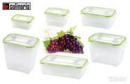 culinario Frischhaltedose, Vorratsdose rechteckig, in verschiedenen Größen erhältlich