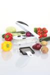 culinario Zwiebel-/ Gemüseschneider mit 2 Einsätzen, schwarz
