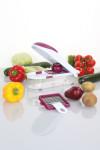culinario Zwiebel-/ Gemüseschneider mit 2 Einsätzen, berry