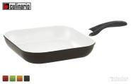 culinario Grillpfanne, 28 x 28 cm, Antihaft-Keramik, induktionsgeeignet, in verschiedenen Farben erhältlich