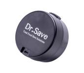 culinario Handvakuumierer Dr. Save in schwarz, aus Kunststoff, schnell und unkompliziert, mit Akku und USB-Ladekabel